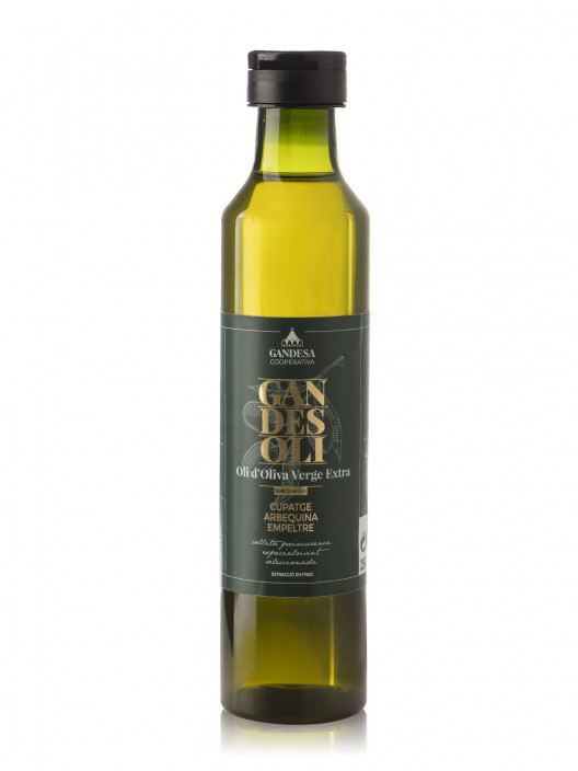 Oli d'Oliva Verge Extra Cupatge Arbequina i Empeltre Gold Collection 250ml