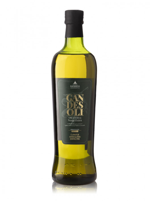Oli d'Oliva Verge Extra Cupatge Arbequina i Empeltre Gold Collection 750ml